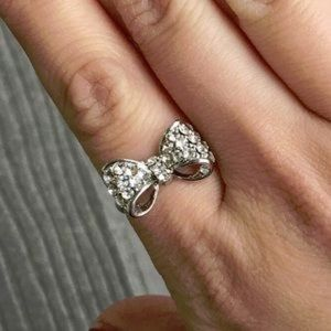 T&J Designs Jewelry - Small Bow Adjustable Ring
